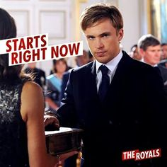 Is Liam ready to take over the throne?!  #TheRoyals ♥ #5/3/15
