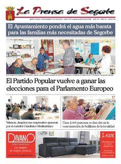 La Prensa de Segorbe nº 175 Junio 2014 | Periódico mensual del Excmo. Ayuntamiento de Segorbe