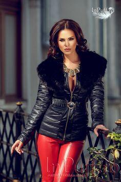 Warm fashion look