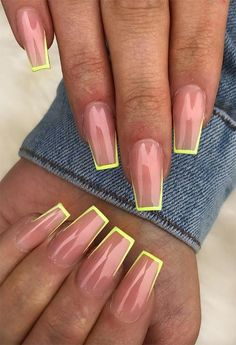 65 Coffin Nail Designs to Die for: Ballerina Nails Ideas 65 Ideas of Coffin Nails: Coffin Shaped Nails (A. Acrylic Nails Coffin Short, Coffin Shape Nails, Summer Acrylic Nails, Best Acrylic Nails, Long Gel Nails, Simple Acrylic Nails, Square Acrylic Nails, Simple Nails, Summer Nails