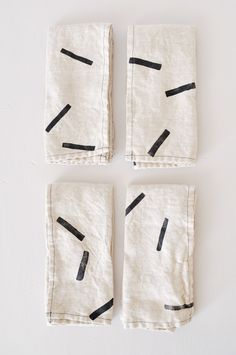 Linen Napkins - Sticks