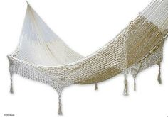 Hammock, 'Caribbean Sands' (double) by NOVICA