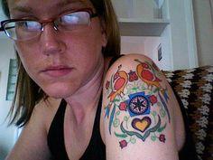Distelfink tattoo
