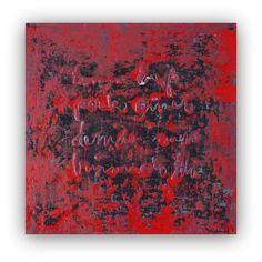 Gran Resumen pintura grande de la lona pintura por studioARTificial