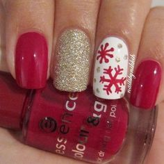 Christmas nails. Discover and share your fashion ideas on www.popmiss.com