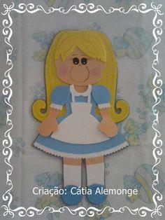 Fofucha plana Alice