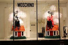 SYMMETRY Moschino Little World – Piccolo Mondo shop window decoration