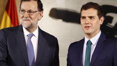 Rajoy y Albert Rivera se reúnen en Moncloa para hablar de la situación de Catalunya