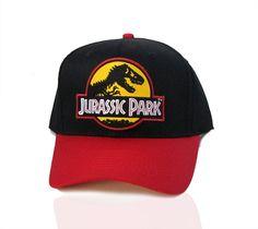 Jurassic Park Movie Logo Yellow Sci-Fi Patched Snapback by TYGP Jurassic Park Merchandise, 6 Panel Cap, Snapback Cap, Caps Hats, Ranger, Sci Fi, Baseball Hats, Stockings, Dinosaurs