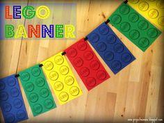 LEGO Birthday Party Banner