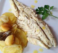 Recetas de pescado en el microondas Dukan Diet Recipes, No Carb Recipes, Cooking Recipes, Vegetarian Cooking, Vegetarian Recipes, Healthy Recipes, Points Plus Recipes, Best Diner, Wheat Belly Recipes
