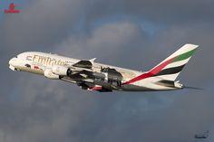 Toutes les tailles | Emirates / Airbus A380-861 /A6-EDG / United For Wildlife 2 | Flickr: partage de photos!
