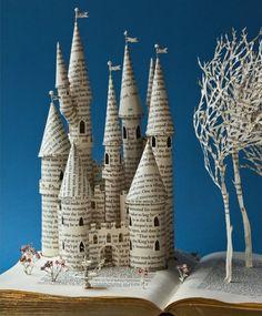 Fairytale castle by Su Blackwell