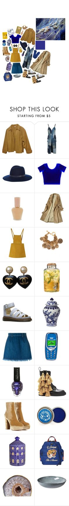 """sw 6971 Morning Glory"" by flapper-shoes ❤ liked on Polyvore featuring Coldwater Creek, rag & bone, Paul & Joe, Chicnova Fashion, Oscar de la Renta, Chanel, Home Essentials, Dr. Martens, Williams-Sonoma and Each X Other"