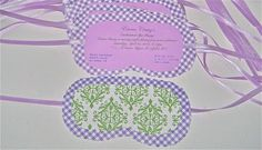Spa Party Invitations - Any Color Combo (20)