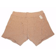 Camel Mens Boxer shorts: Men's organic cotton underwear made from a waffle cotton fabric in a boxer brief style. Made in Japan.