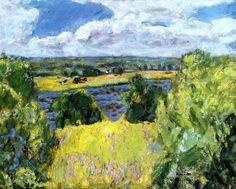 Vernon, Landscape of the Midi / Pierre Bonnard - 1921