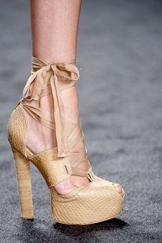 Vera Wang spring 2013 shoes #nyfw ~
