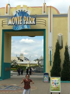 Moviepark Germany, for one day its nice to do