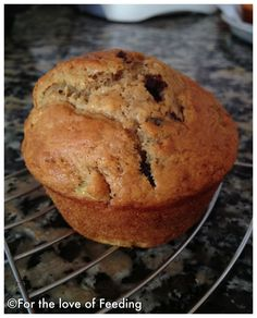 Chocolate chip banana muffins!