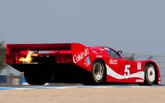 Coke-liveried 962 Porsche