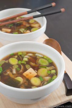 Inspiración para un experimento culinario !! Sopa miso | http://danzadefogones.com/sopa-miso/