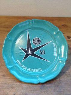 アトミウム Atomium ミニプレート ブリュッセル万国博覧会