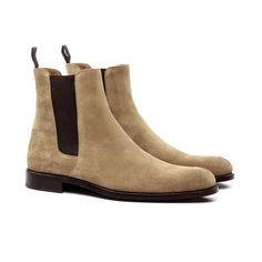 THE TAUPE CHELSEA BOOTS - ORO Los Angeles - 1