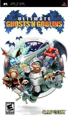 Ultimate Ghosts 'n' Goblins. I had this for the PSP. It's one of the most impressive-looking games from the legendary series, but also one of the hardest to complete.