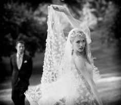 Ancient Greeks and Romans believed that veils would shield the bride from evil spirits.