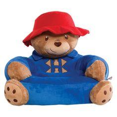 Paddington Bear Children's Plush Character Chair