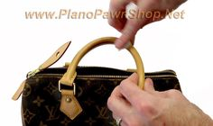 How to clean a Louis Vuitton Purse - Plano Pawn Shop Louis Vuitton Strap, Used Louis Vuitton, Vuitton Bag, Louis Vuitton Handbags, Louis Vuitton Speedy Bag, Purses And Handbags, Clean Leather Purse, Leather Purses, Purse Strap