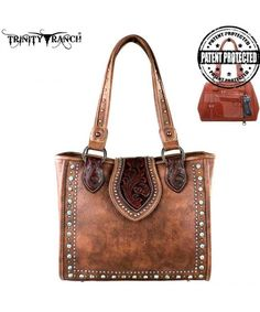 3665be42c0 Montana West Tooled Design Concealed Handgun Collection Handbag Purse -  C112LHUFRSX