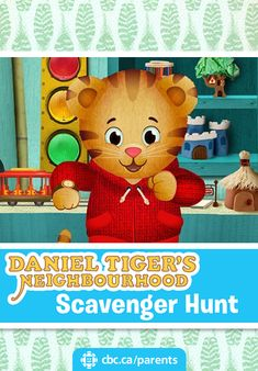 Can your kids find everything on Daniel Tiger's scavenger hunt? Print a…