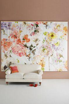 Floral Mural Wallpap