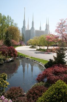 LDS temple in Washington DC. This is by far the most beautiful temple that I've seen. Washington Dc, Mormon Temples, Lds Temples, Beautiful World, Beautiful Places, Temple Pictures, Lds Mormon, Lds Church, Jesus Cristo