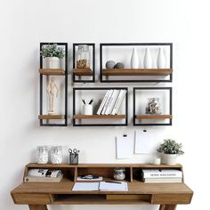 Shelfmate C 50 shelf - wohnen - Shelves Room Interior, Interior Design Living Room, Living Room Decor, Interior Livingroom, Kitchen Interior, Diy Furniture, Furniture Design, Wall Shelves Design, Bookshelf Design