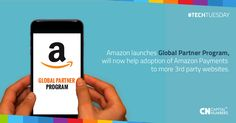 Amazon expands its payments processing service. takes on PayPal and others with launch of Amazon Payments partner program   Read on here: http://tcrn.ch/1N4WYko