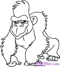 gorilla cartoon - Google Search