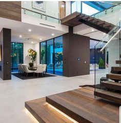 Contemporary house designs have a whole lot to use to a modern resident. Finally, the modern house architecture does not restrict creative minds at all. Dream Home Design, Home Interior Design, Interior Decorating, Interior Ideas, Modern Mansion Interior, Decorating Bathrooms, Interior Livingroom, Luxury Interior, Exterior Design