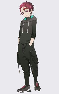 Demon Slayer, Slayer Anime, Hot Anime Boy, Anime Guys, Fanarts Anime, Anime Characters, Mode Cyberpunk, Anime Gangster, Kleidung Design