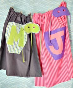 Awesome DIY Dress-Up Superhero Capes For Your Kids   Kidsomania