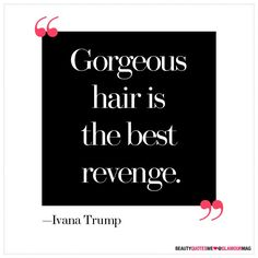 Ivanka Trump (funny that I went and got a   haircut a week after it happened)