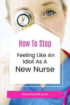 Nobody ever wants to feel like an idiot! Especially someone who performs such a highly valued job like nursing. But with anything new, there's always a feeling of insecurity until it becomes comfortable. So rather than drown in your own negative thoughts, hear from someone who's also been in your same position and how she went about becoming the best nurse possible and feeling great about it! Nursing School Motivation, Nursing School Tips, Nursing Tips, Nursing Student Organization, Tops Diy, Night Shift Nurse, Work Wife, Shift Work, New Nurse