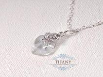 love crystal clear-Kristallherz & Zirkon, SS/925 | by Tifany-Jewelry