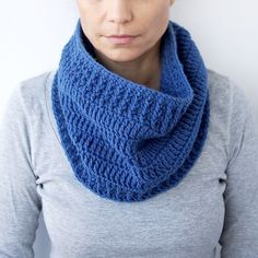 Ravelry: Basic cowl loop scarf pattern by Accessorise by Accessorise