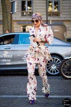 #CatherineBaba being fabulous. Paris.