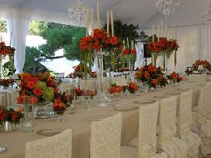 The French Tangerine: ~ tangerine wedding part 2
