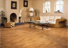 Many homeowners stay away from cork flooring, because they aren't sure how to clean and maintain it. This is a shame; a few simple instructions on clearing care could ease the mind.