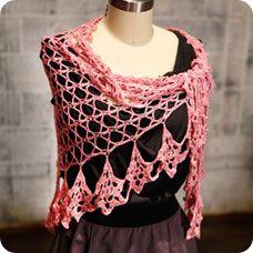 sweetheart shawl by Kristin Omdahl